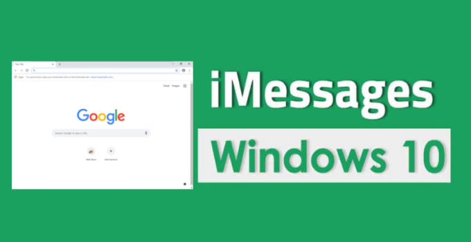imessages on windows pc