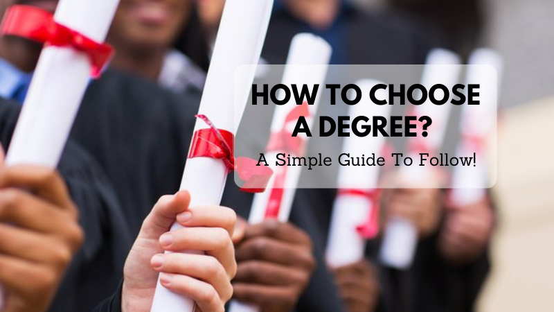 Choose A Degree