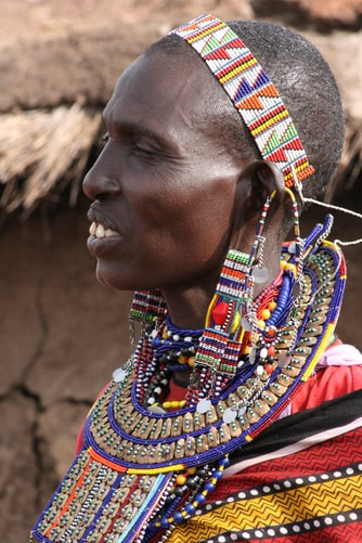 3The beautiful Masai people see nature differently