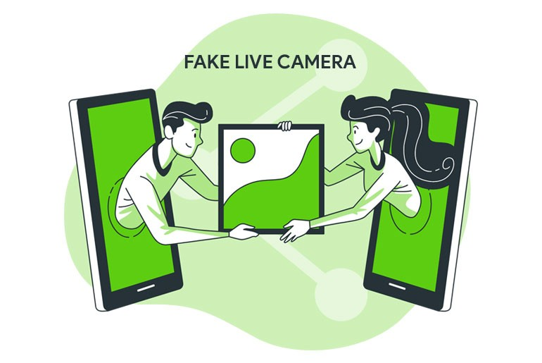 How to Send Fake Live Camera Picture on Kik